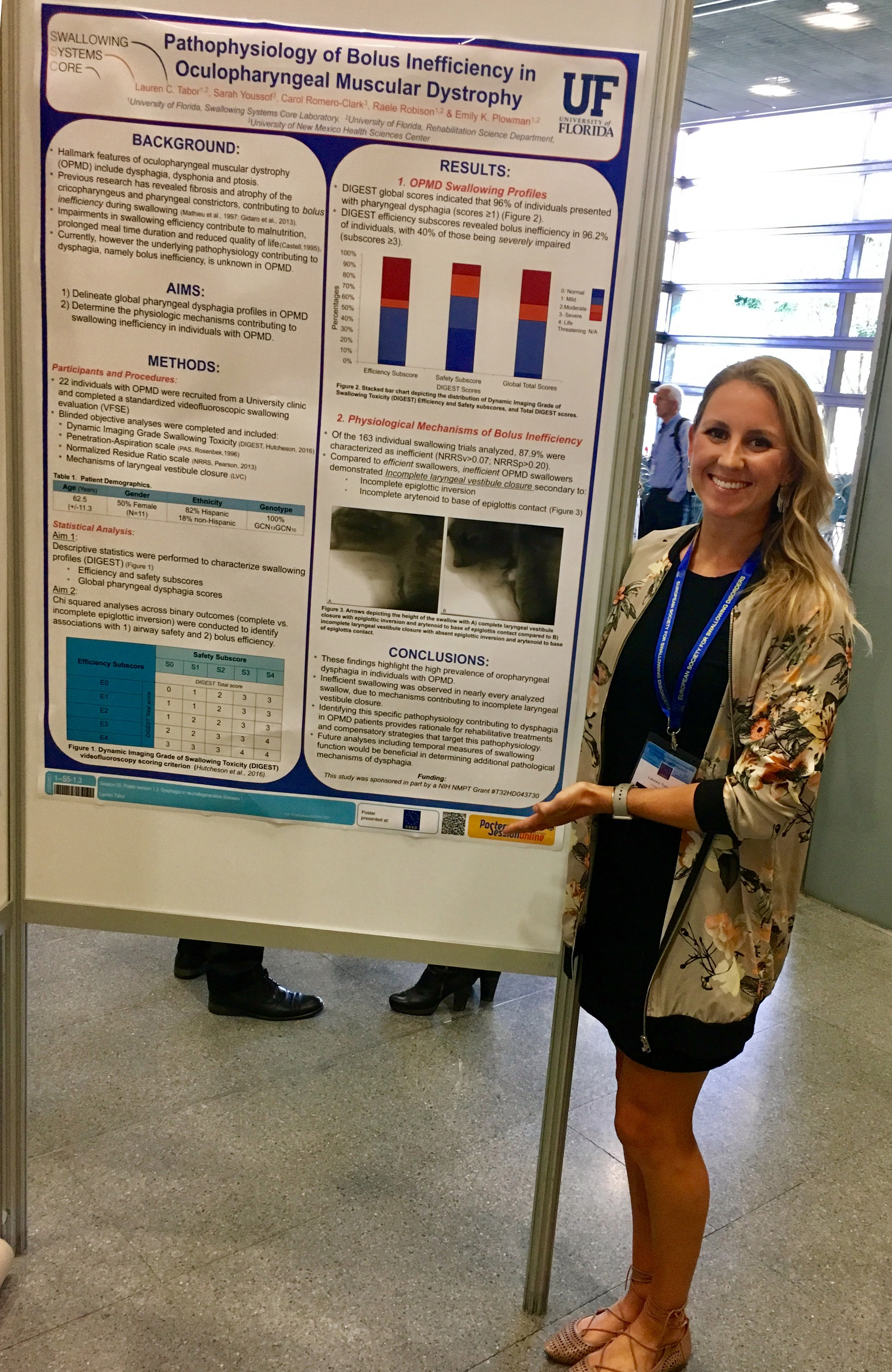 Lauren Tabor at European Society for Swallowing Disorders