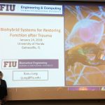 "Dr. Ranu Jung, an international leader in biomedical engineering, presented her talk, ""Biohybrid systems for restoring function after trauma"" for the Rehabilitation Science Seminar series last week."