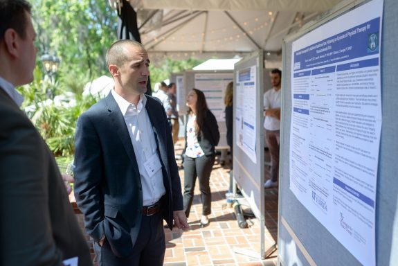 Trevor Lentz at the 12th Annual Neuromuscular Plasticity Symposium