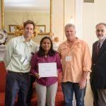 Kamalamma receives Neuromuscular Plasticity Symposium travel award