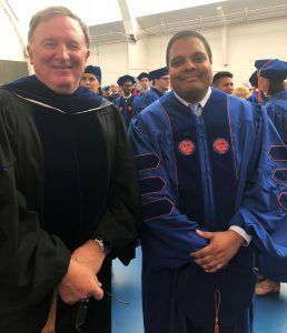 RSD grad, Dr. Shakeel Ahmed, with mentor Dr. Danny Martin