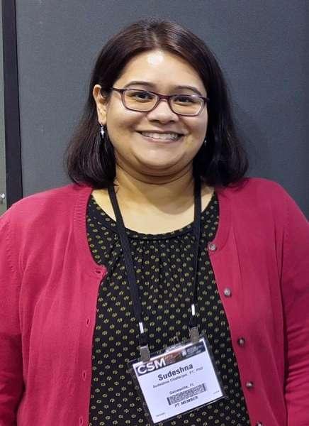 Photo of Dr. Sudeshna Chatterjee